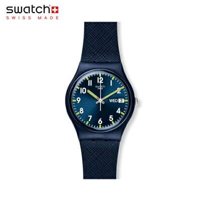 【公式ストア】Swatch スウォッチ SIR BLUE サー・ブルー GN718Originals (オリジナルズ) Gent (ジェント) 【送料無料】メンズ 腕時計 人気 定番 プレゼント
