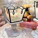 キャンドルスタンド グラス キャンドル スタンド【Clarice・クラリーチェ】クリスマス ガラス LEDライト
