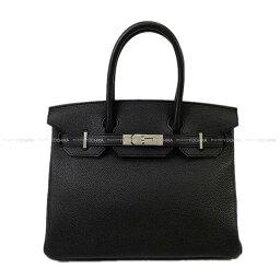 ハンドバッグ 【キャッシュレスポイント還元★】HERMES エルメス ハンドバッグ バーキン30 黒(ブラック) トゴ シルバー金具 新品 (HERMES Handbag Birkin 30 Black Togo SHW[Brand new][Authentic])【あす楽対応】#yochika