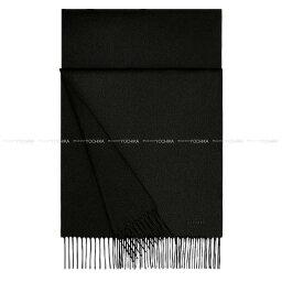 """エルメス マフラー(レディース) 【夏のボーナスで☆】HERMES エルメス ロゴマフラー """"ユニ・ブロデ / Unie Brod'ee"""" 黒(ブラック) カシミア100% 新品 (HERMES Hermes logo muffler """"Unie Brod'ee"""" Black cashmere 100% [Brand new])【あす楽対応】#yochika"""