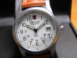 スイスミリタリー 腕時計(メンズ) SWISS MILITARY スイスミリタリー 腕時計 ML2 メンズ 35mm レザー LEATHER! 【文字盤カラー ホワイト】 日本全国=北は北海道、南は沖縄まで送料580円でお届けけします