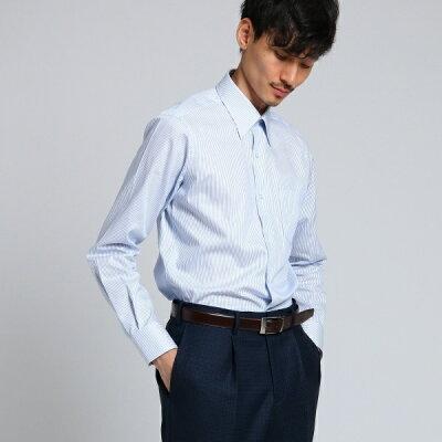 Mシャツ(ピンカラーストライプシャツドレス)/タケオキクチ(TAKEO KIKUCHI)