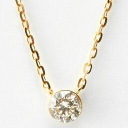 アガット ネックレス(レディース) K18ダイヤモンドネックレス/アガット(agete)