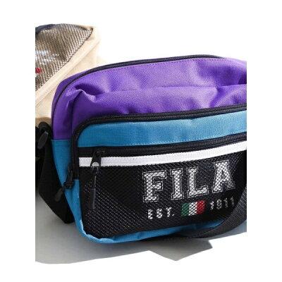 FILA|メッシュポケットショルダーバッグ【別注】/ウィゴー(レディース)(WEGO)