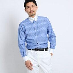 TAKEOKIKUCHI ワイシャツ 【PNJ】立絣縞レギュラーカラーシャツ[メンズ シャツ ビジネス 日本製]/タケオキクチ(TAKEO KIKUCHI)