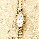 アガット 腕時計 レディース オーバルフェイスジュエリーウォッチ【A.CNO.1YG時計】/アガットクラシック(ageteCLASSIC)