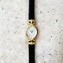アガット 腕時計 レディース 革ベルトジュエリーウォッチ【AGETE33BK時計】/アガット(agete)