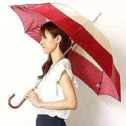 ピンキー ダイアン 傘(レディース) 【JJ 7月号掲載】【雨傘(ジャンプ式)】長傘(2色ボーダープリント/耐風骨使用)/レディース/ピンキー&ダイアン(雑貨)(Pinky&Dianne)