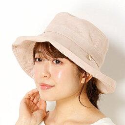 フルラ 帽子 レディース 【UV遮蔽率98%以上・サイズ調整できる】グランジウォッシュリネン セーラーハット/フルラ(ネックウェア・帽子)(FURLA)