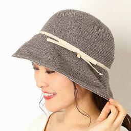フルラ 帽子 レディース 【UV遮蔽率97%以上・サイズ調整OK】手洗いできる麻ブレード パイピングセーラーハット/フルラ(ネックウェア・帽子)(FURLA)