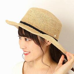 フルラ 帽子 レディース 【サイズ調整OK】ラフィア細編み 平天ハット/カンカン帽/フルラ(ネックウェア・帽子)(FURLA)