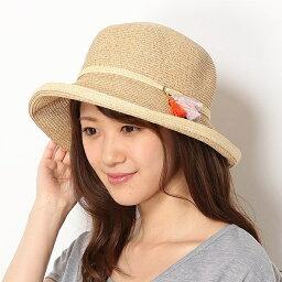 フルラ 帽子 レディース 【UV遮蔽率95.9%以上・サイズ調整OK】手洗いできるペーパーブレード タッセル付きセーラーハット/フルラ(ネックウェア・帽子)(FURLA)