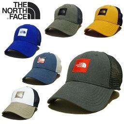 ザ・ノース・フェイス 【あす楽】全12種類 / Vol.1 / THE NORTH FACE TNF BOX LOGO TRUCKER / HATS / CAP / ザ・ノース・フェイス / Mesh Cap (メッシュキャップ) / ロゴ トラッカー / スナップバック / 帽子 / NF0A3FKX