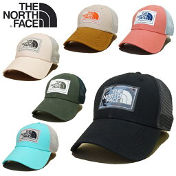 ザ・ノース・フェイス 【あす楽】全17種類 / Vol.2 / THE NORTH FACE MUDDER TRUCKER HAT / HATS / CAP / ザ・ノース・フェイス / Mesh Cap (メッシュキャップ) / ロゴ / トラッカー / ハット / スナップバック / 帽子 / NF00CGW2