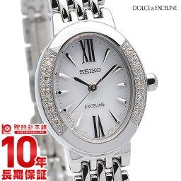 セイコー ドルチェ&エクセリーヌ 腕時計(レディース) セイコー ドルチェ&エクセリーヌ DOLCE&EXCELINE ソーラー 10気圧防水 SWCQ047 [正規品] レディース 腕時計 時計【36回金利0%】