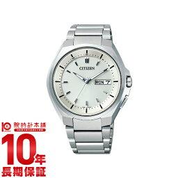 アテッサ 【ポイント10倍】【ショッピングローン12回金利0%】シチズン アテッサ ATTESA エコドライブ ソーラー電波 クロノグラフ AT6010-59P  [国内正規品] メンズ 腕時計 時計