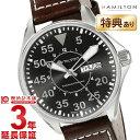 カーキ 腕時計(メンズ) 【ショッピングローン12回金利0%】ハミルトン カーキ HAMILTON パイロット H64425535 [海外輸入品] メンズ 腕時計 時計