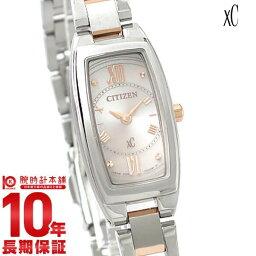 クロス シー(XC) 【ポイント10倍】シチズン クロスシー XC エコドライブ ソーラー EG2874-57W [国内正規品] レディース 腕時計 時計