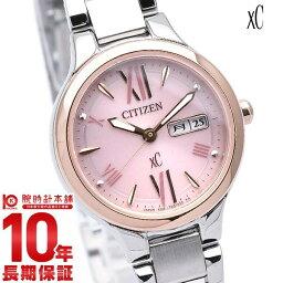 シチズン クロスシー 腕時計(レディース) シチズン クロスシー XC ハッピーフライト ワールドタイム ソーラー EW3224-53W [正規品] レディース 腕時計 時計