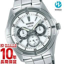 ワイアード 腕時計(メンズ) 【ポイント10倍】セイコー ワイアード WIRED ソーラー 100m防水 AGAD050 [国内正規品] メンズ 腕時計 時計