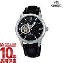 オリエント 【ショッピングローン12回金利0%】オリエントスター ORIENT オリエントスター セミスケルトン 機械式 自動巻き (手巻き付き) ブラック WZ0221DA [国内正規品] メンズ 腕時計 時計