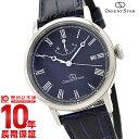 オリエント 【ショッピングローン12回金利0%】オリエントスター ORIENTSTAR オリエントスター エレガントクラシック 機械式 自動巻き (手巻き付き) ネイビー WZ0331EL [国内正規品] メンズ 腕時計 時計