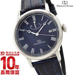 オリエント 腕時計(メンズ) 【ポイント10倍】【12回金利0%】オリエントスター ORIENTSTAR オリエントスター エレガントクラシック 機械式 自動巻き (手巻き付き) ネイビー WZ0331EL メンズ 腕時計 時計