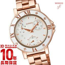 セイコー ワイアード 腕時計(レディース) セイコー ワイアードエフ WIREDf トーキョーガールミックス クロノグラフ AGET401 [国内正規品] レディース 腕時計 時計