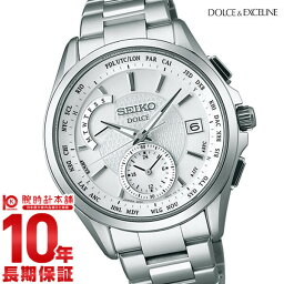 ドルチェ&エクセリーヌ 【ショッピングローン12回金利0%】セイコー ドルチェ&エクセリーヌ DOLCE&EXCELINE ソーラー電波 100m防水 SADA025 [国内正規品] メンズ 腕時計 時計