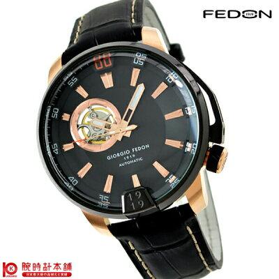 ジョルジオフェドン1919 GIORGIOFEDON1919 タイムレス3 ブラック×ブラック GFBA003 [正規品] メンズ 腕時計 時計【あす楽】