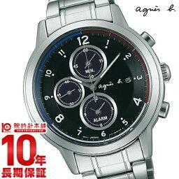 アニエス 腕時計 【2500円割引クーポン利用可】【ショッピングローン12回金利0%】アニエスベー agnesb マルセイユ クロノグラフ ソーラー FBRD970 [正規品] メンズ 腕時計 時計