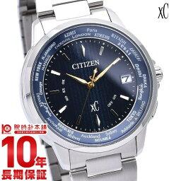 シチズン クロス シー(XC) 腕時計(メンズ) 【5日は店内最大ポイント42倍!DEALも実施中!】 シチズン クロスシー 限定モデル 2500本予定 エコドライブ 電波 時計 腕時計 ハッピーフライト ペア CB1020-54M メンズ XC CITIZEN