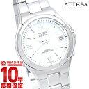 シチズン アテッサ 腕時計(メンズ) 【ポイント10倍】【新作】シチズン アテッサ ATTESA エコドライブ ソーラー電波 ATD53-2842 [国内正規品] メンズ 腕時計 時計
