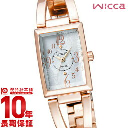シチズン ウィッカ 腕時計(レディース) 【ポイント10倍】シチズン ウィッカ wicca エコドライブ ソーラーテック NA15-1563 [国内正規品] レディース 腕時計 時計