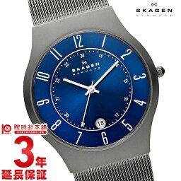 スカーゲン 腕時計(メンズ) 【店内最大ポイント42倍!9日9:59まで】 スカーゲン メンズ SKAGEN ウルトラスリム 233XLTTN [海外輸入品] 腕時計 時計【あす楽】