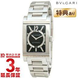 レッタンゴロ 腕時計(メンズ) 【ショップオブザイヤー2017受賞!】【ショッピングローン24回金利0%】ブルガリ BVLGARI レッタンゴロ ブラック 自動巻 RT45BRSSD [海外輸入品] メンズ 腕時計 時計