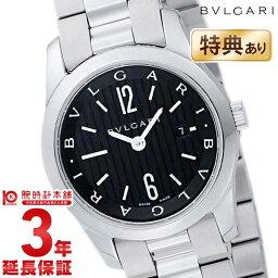 ソロテンポ 【ショッピングローン12回金利0%】ブルガリ ソロテンポ BVLGARI ブラック ST30BSSD [海外輸入品] レディース 腕時計 時計