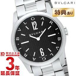 ソロテンポ 腕時計(メンズ) 【ショッピングローン12回金利0%】ブルガリ ソロテンポ BVLGARI ブラック ST37BSS [海外輸入品] メンズ 腕時計 時計