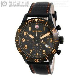ウェンガー 腕時計(メンズ) ウェンガー WENGER エアログラフカウントダウンクロノグラフ 77003 メンズ腕時計 時計