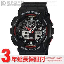 カシオ G-SHOCK 腕時計(メンズ) カシオ Gショック G-SHOCK アナデジモデル ワールドタイム GA-100-1A4DR [海外輸入品] メンズ 腕時計 時計