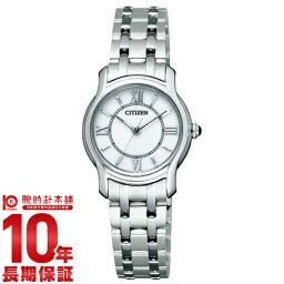 シチズン クレティア 腕時計(レディース) 【ポイント10倍】シチズン CITIZEN クレティア エコドライブ ソーラー CLB37-1741 [国内正規品] レディース 腕時計 時計