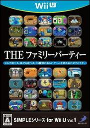 Wii Party U 【WiiU】SIMPLEシリーズ for WiiU Vol.1 THEファミリーパーティー