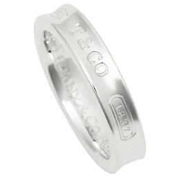 ティファニー 1837記念 指輪(レディース) TIFFANY&Co. リング アクセサリー ティファニー 1837 ナローベーシックリング SS 指輪 シルバー