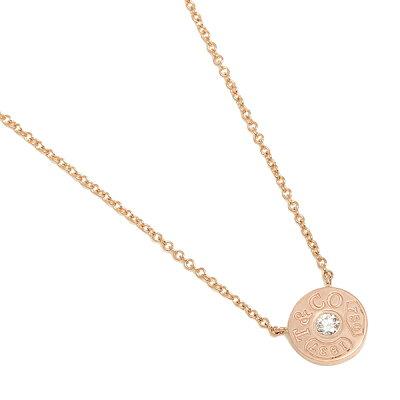 TIFFANY&Co. ネックレス アクセサリー ティファニー 33286007 1837 18K サークル ペンダント ダイアモンド16in 18R ペンダント ローズゴールド