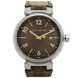 ルイ ルイヴィトン 腕時計(メンズ) LOUIS VUITTON 時計 メンズ ルイヴィトン Q1111A タンブール GM 腕時計 ウォッチ ブラウン