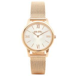 フォリフォリ 腕時計(レディース) FOLLI FOLLIE 時計 フォリフォリ WF15R032BPWXX マッチポイント MATCH POINT レディース腕時計ウォッチ シルバー/ピンクゴールド