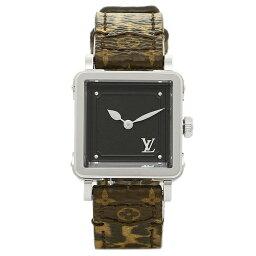 ルイヴィトン 腕時計(レディース) ルイヴィトン 腕時計 LOUIS VUITTON Q3M003 モノグラム ノワール