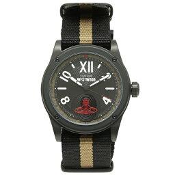 ヴィヴィアンウエストウッド VIVIENNE WESTWOOD 腕時計 メンズ ヴィヴィアンウエストウッド VV194BKBK カーキ ベージュ ブラック