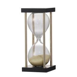 砂時計 砂時計 15分 TAN タン 薄い茶色 ブラック おしゃれ ゴールド モダン 高級感 おしゃれ アンティーク シンプル インテリア かっこいい デザイン ギフト 贈り物
