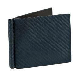 ダンヒル マネークリップ ダンヒル 財布 DUNHILL マネークリップ 札ばさみ 二つ折り財布 シャーシ CHASSIS L2W585N ネイビー×ダークブラウン